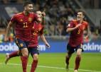 """Spānija """"San Siro"""" stadionā salauž Eiropas čempiones Itālijas pasaules rekordu"""