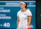 Žabūra izstājas pirmajā mačā pēc iekļūšanas WTA ranga desmitniekā