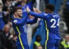 Mauntam <i>hat-trick</i>, ''Chelsea'' iesit septiņus un <i>saplosa</i> ''Norwich''