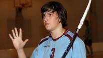 """Sporta Punkts mēneša spēlētājs Rislings: """"Vēlētos spēlēt Virslīgā"""""""