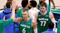 Dončiča un Porziņģa sadarbība iekļauta NBA dienas momentos