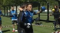 """Milānas """"Inter"""" iekšējo konfliktu atrisina ar boksa maču starp treneri un futbolistu"""