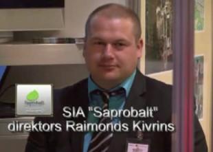 """Video: SIA Saprobalt direktors R.Kivrins: """"Latvijas ezeros guļ zelts, jāmāk tikai to paņemt..."""""""
