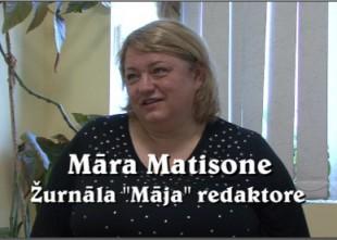 """Video: """"Šodien jaunieši grib visu ātri un viegli.."""" :saruna ar žurnāla """"Māja"""" redaktori Māru Matisoni"""