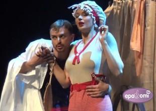 """Video: Septiņi kārdināšanas veidi Arkādija Averčenko izrādē """"ALBUMS"""""""