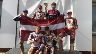 Latvijas spīdveja junioru izlase - pasaules čempionāta finālā