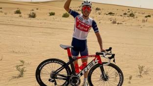 """Ātrais Liepiņš finišē ceturtais prestižās """"UAE"""" tūres pirmajā posmā"""