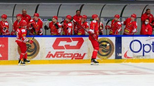 Baltkrievijas izlase pašās beigās atspēlējas un pārbaudes mačā pieveic Ungāriju