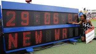Hasana uzstāda pasaules rekordu 10 000m Hengelo, Duplantim 6,10m kārtslēkšanā
