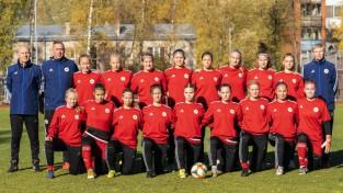 Latvijas U19 futbolistes EČ kvalifikācijas pirmajā spēlē zaudē Kosovai