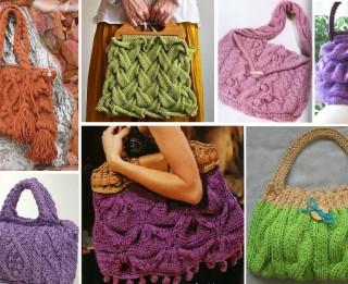 Foto: 25 skaistas adītas somas