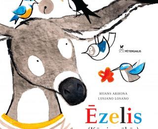 """Izdota bērnu grāmata no Spānijas -""""Ēzelis"""""""