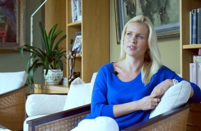 Bērnu slimnīcas fonda valdes priekšsēdētāja Liene Dambiņa par mākslu un šaubām