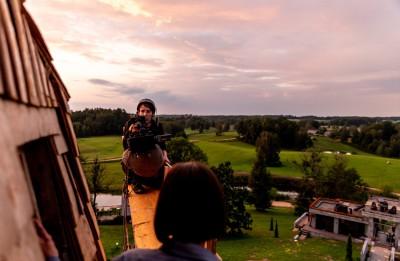 """Andris Gauja uzsāk filmas """"Nekas mūs neapturēs"""" montāžu"""