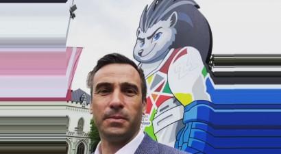 Rīgas mēram uzlikts sods par Krievijas karoga noņemšanu hokeja PČ laikā