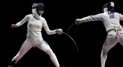 Igaunijas sieviešu komanda kļūst par olimpisko čempioni paukošanā ar špagu