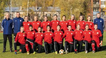 Latvijas U19 futbolistes iesit pirmās, taču piekāpjas arī Horvātijai