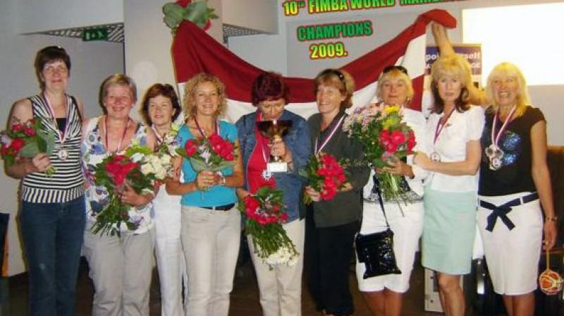 """2009. gada Pasaules čempiones - """"Zeltenes Latvija"""""""