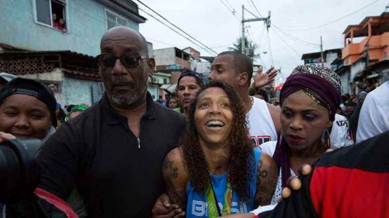 Rafaela Silva  Foto: AP/Scanpix