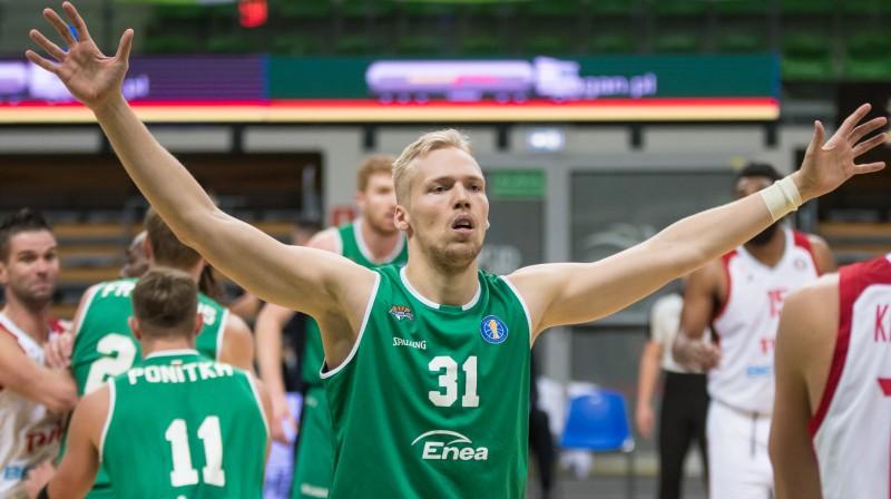 Jānis Bērziņš. Foto: Zastal Enea BC Zielona Góra