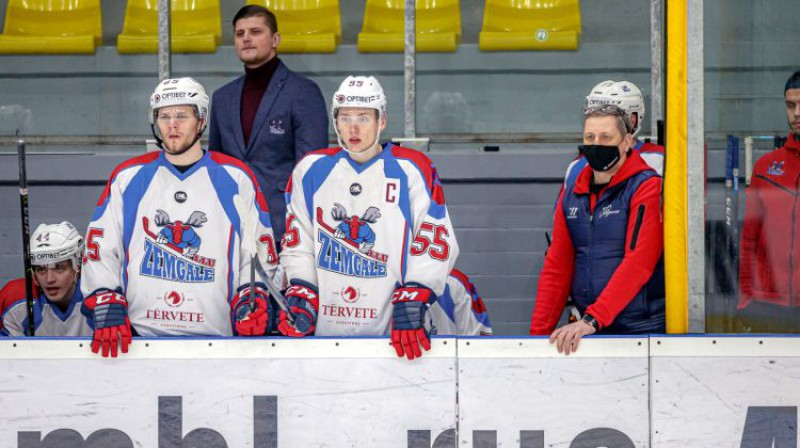 Kristaps Jākobsons un Patriks Ozols. Foto: Agris Bricis/OHL
