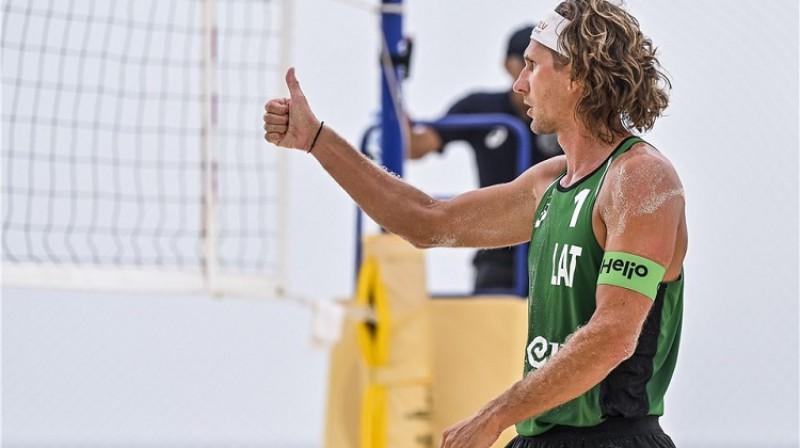 Aleksandrs Samoilovs. Foto: FIVB