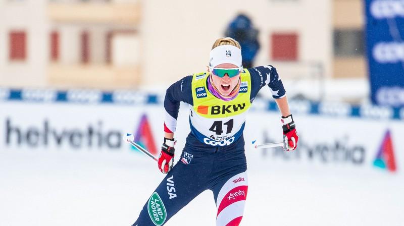 Heilija Svirbula. Foto: USA Ski team.