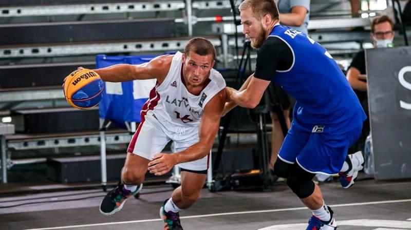 Toms Ķēdis. Foto: FIBA