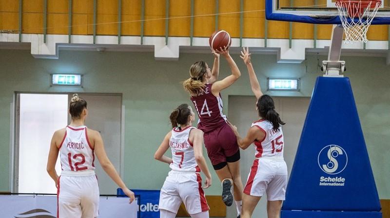 Marta Leimane 2021. gada 27. jūlijā. Foto: FIBA