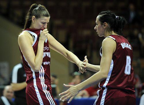 Latvijas basketbolistes astotās Eiropā