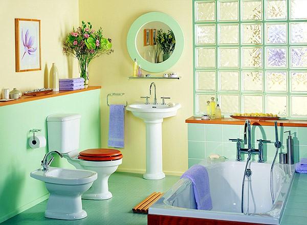 Fen šui vannas istabā