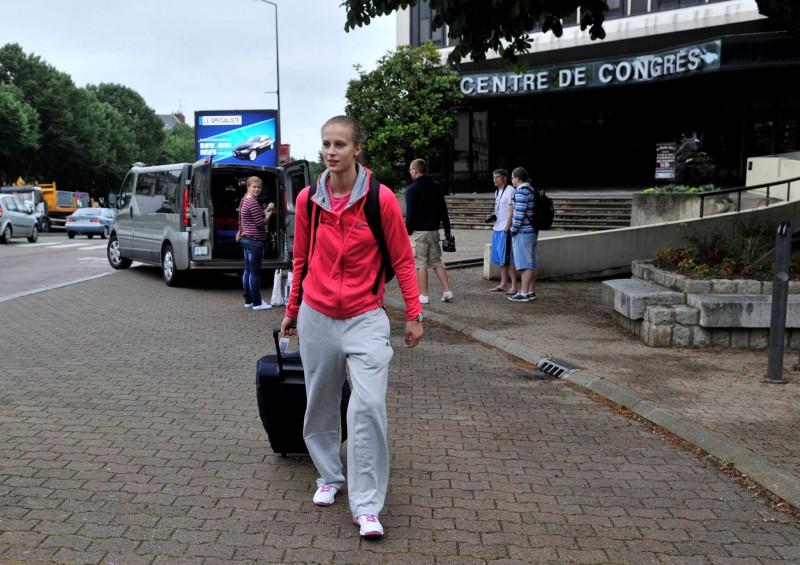 Kitija Laksa - jaunākā spēļu dalībniece Eiropas čempionātā