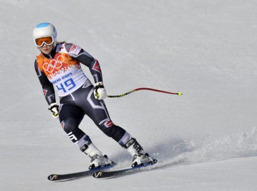 Āboltiņa olimpiādē debitē ar 31. vietu supergigantā, 18 sportistes izstājas