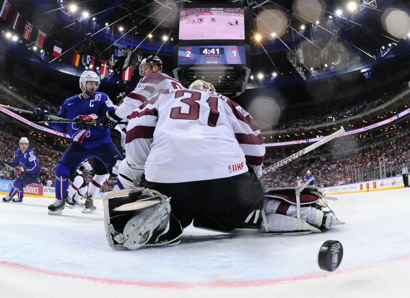 IIHF nekonstatē negodīgumu Latvijas un Francijas mačā