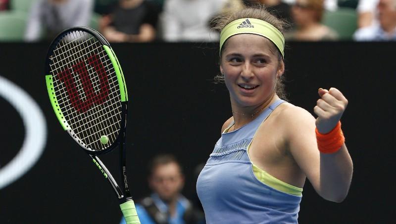 Ostapenko ar sesto vietu sasniedz jaunu rekordu WTA rangā