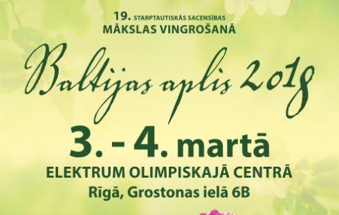 """Klāt sporta un mākslas svētki - sacensības """"Baltijas aplis"""""""
