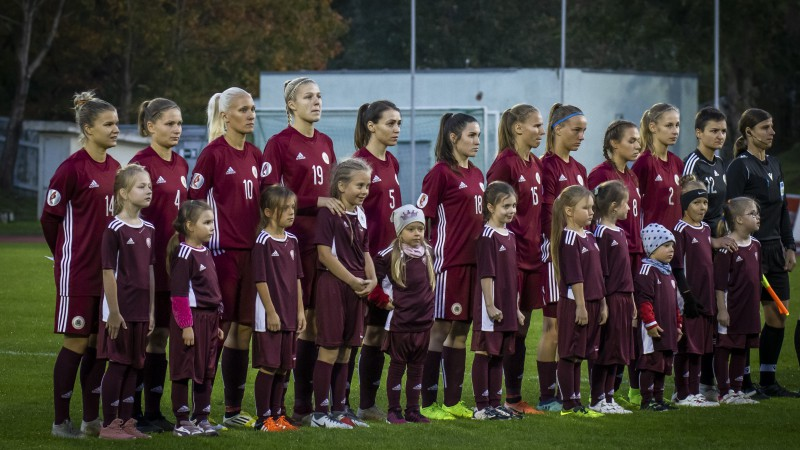 Latvijas sieviešu futbola izlase Lietuvā uzsāks Baltijas kausa izcīņu