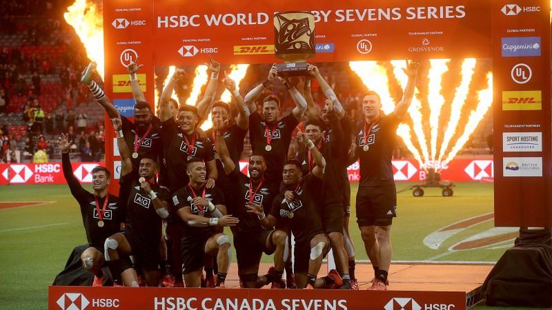 Jaunzēlandes izlases pasludina par regbija-7 Pasaules sērijas čempioniem
