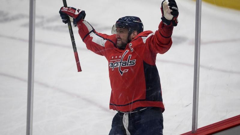 Ovečkinam 714. vārti, ''Capitals'' atspēlējas un uzvar ''Flyers''