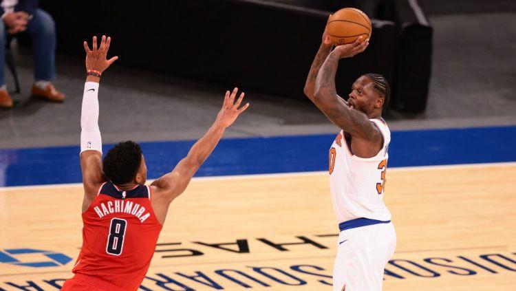 """""""Wizards"""" bez Bertāna zaudē """"Knicks"""", piedzīvojot kārtējo neveiksmi"""