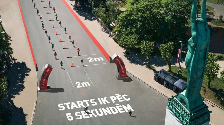Rīgas maratons norisināsies bez masu starta