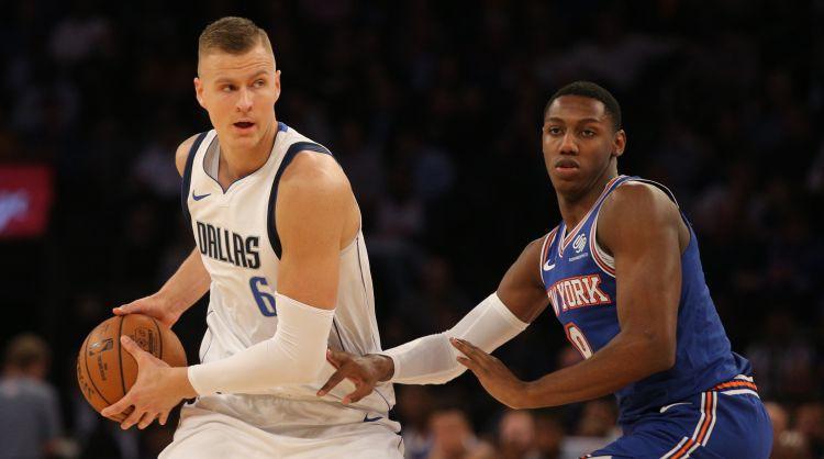 """Porziņģis: """"Man pietrūkst Ņujorkas un """"Knicks"""" fanu"""""""