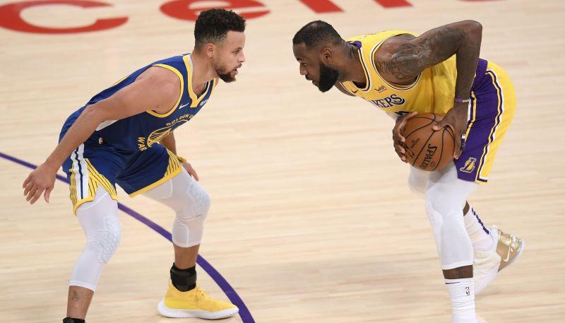 "NBA čempione ""Lakers"" ""play-in"" tiksies ar ""Warriors"""