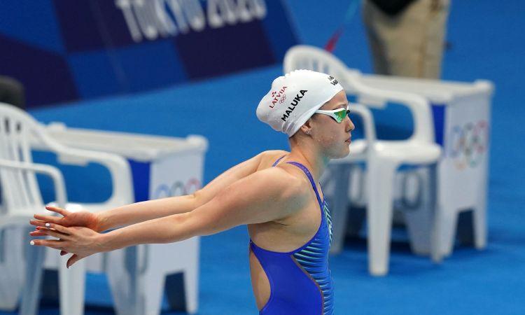 Maļuka OS debijā uzvar savā peldējumā un izcīna 24. vietu 200 m brīvajā stilā
