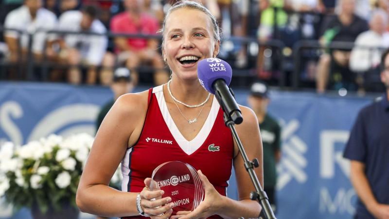 """Pēdējos divos WTA turnīros pirms """"US Open"""" uzvar Svitoļina un Kontaveita"""