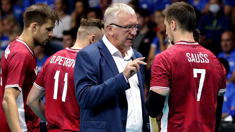Kēls neturpinās darbu Latvijas volejbola izlases galvenā trenera amatā
